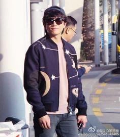 """""""151105 인천 입국  @Incheon Airport...back from Fukuoka.  #지성 #チソン #池晟 #池城 #jisung  Cr : Weibo @甜甜D笨笨熊"""""""