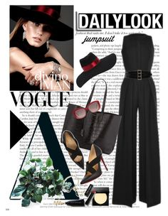 """""""2015 Fall Jumpsuit"""" by jacque-reid ❤ liked on Polyvore"""