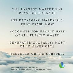 It is my responsibility as a manufacturer to pay attention to what happens to packaging AFTER the sale. It is YOUR responsibility to purchase from companies that offer better packaging options. #wastefreeproducts #plasticfreepackagingplease