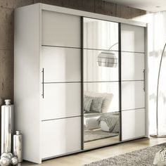 Epic You ull love the Carlo Sliding Door Wardrobe at Wayfair co uk