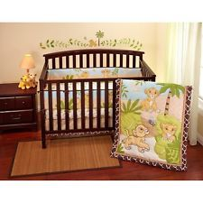 NEW Disney Lion King Simba 7-Piece Crib Bedding Set Bumper Comforter Sheet+MORE