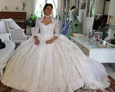 Robe de mariee www.sallesdreception.fr