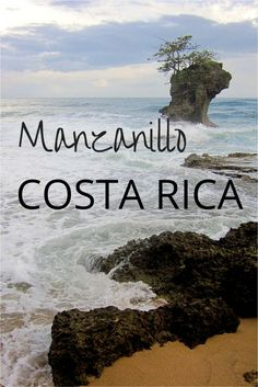 Visit the Caribbean Coast of Costa Rica - Manzanillo is a small village near the Panama border - relax, enjoy nature, go hiking, swimming, snorkeling, kayaking, diving....pura vida - SoloTripsAndTips.com