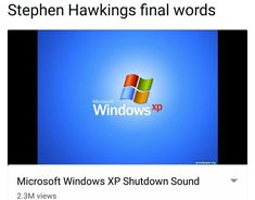steven.hawking.exe has stopped working