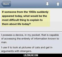 If Someone From The 1950s Suddenly Appeared Today#funny #lol #lolzonline