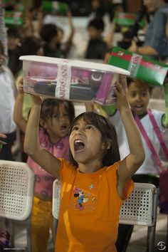 Operation Christmas Child in Peru.