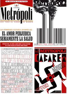 Portadas de revistas- Metropoli
