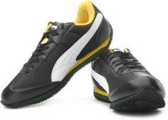 Puma Men's Running Shoes : Speeder Tetron Ind Black Synthetic Leather @ Rs 2499