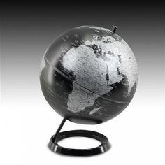 globo terrqueo con soporte perfecto para colocar en un escritorio o decorar en un saln