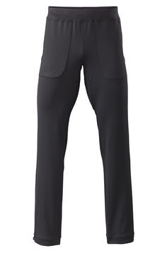 QORtec Stretch Workout Pant - 108 Nylon stretch heavy jersey knit, 90% supplex/10% lycra elastane.