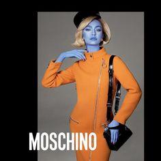 Gigi Hadid stars in Moschino's fall-winter 2018 campaign