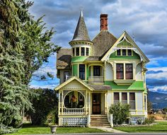 Victorian in green                                                       …
