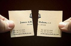 20 genius business card designs you won't forget