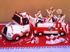 Torta Hinchada de Futbol ,RIVER PLATE Moms 50th Birthday, Soccer Cake, Sport Cakes, Peruvian Recipes, Ideas Para Fiestas, Cakes For Boys, Childrens Party, Beautiful Cakes, Cake Designs