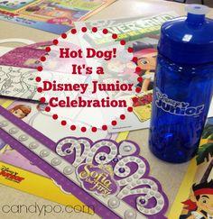 Hot Dog! It's a Disney Junior Celebration! #DisneyJuniorFamilia #ad