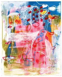 Artist: Deborah Taylor - Title: Water Garden (Height - 25.40 cm X Width - 20.32 cm )