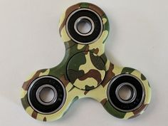 Mixed Colored Triangular Plastic EDC Tri lever Hand Spinner Fidget Toy