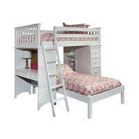 Mission Twin Loft Bed