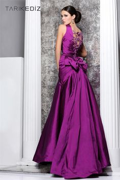Tarik Ediz Evening dress 92149    #dress www.finditforweddings.com
