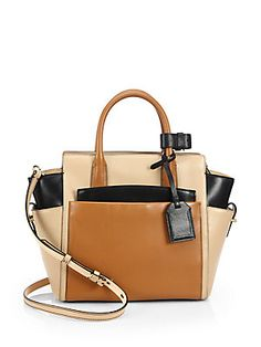 d4d099d2dead0b My wish-handbag! Reed Krakoff Mini Colorblock Atlantique Satchel