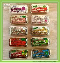 Lip Smackers Lip Balm. Loved, loved, loved these! Put them in your back pocket and you were good to go!