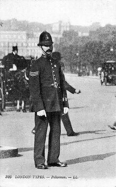 Edwardian Metropolitan Police Sergeant