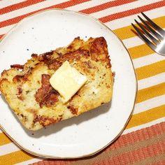Savory Bacon Bread Pudding