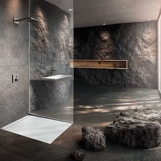 "Gefällt 8,922 Mal, 70 Kommentare - Interior Design (@design_interior_homes) auf Instagram: ""Beautiful bathroom designed by 747 Studio. Follow 👉🏻 @my.minimal.design . #bathroom #bath #banheiro…"""