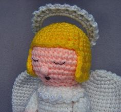 Crochet Angel PDF Pattern by WolfDreamerOTH on Etsy