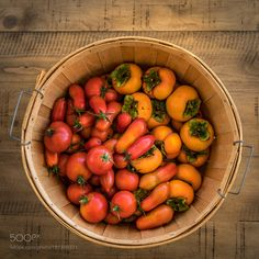 Tomatoes Persimmons by jphotographyjames