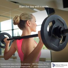 Too tired after a long day at the office to workout? Hit the gym in the morning. #NoExcuses