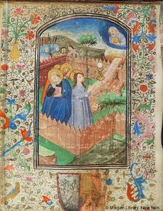 Book of Hours, MS W.3 fol. 30v - Images from Medieval and Renaissance Manuscripts - The Morgan Library & Museum