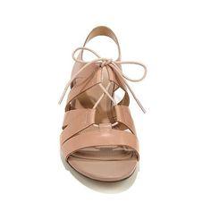 Naturalizer Felicity Ghillie Block Heel Sandal - Black