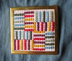 Cross-Stitch Pin