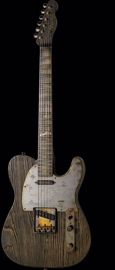 Really interesting Fender Telecaster, Beautiful Wood