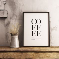 Printing Services, Online Printing, Coffee Definition, Kitchen Prints, International Paper Sizes, Coffee Gifts, Printable Art, Different Colors, Wall Art Prints