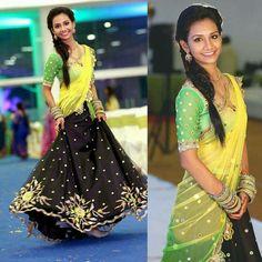 Yellow,green&black