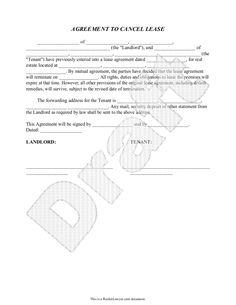 Cancel lease form letter to cancel lease agreement sample cancel lease form letter to cancel lease agreement sample agreement to cancel lease pinterest spiritdancerdesigns Images