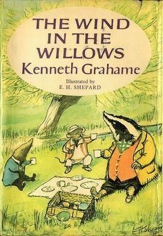 The Wind in the Willows (dust jacket) by peacay, via Flickr