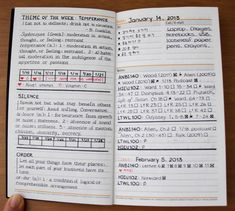 old daily/weekly planner by raincookieArt