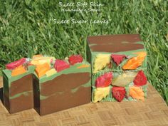 Sweet Sugar Leaves Soap Bars