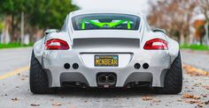 Custom Porsche Cayman Stuns With Its OTT Widebody Kit #Porsche #Porsche_Cayman