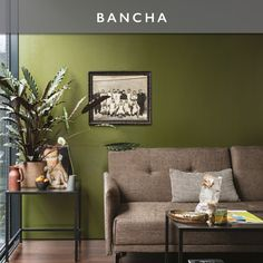 Farrow & Ball add nine new paint colours to their range Olive Green Bedrooms, Olive Green Walls, Bedroom Green, Olive Green Decor, Living Room Green, Green Rooms, Living Room Decor, Room Colors, Wall Colors