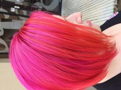 Kenra Color Creative work by Derek Deriso. #PinkHair