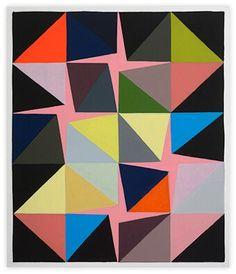 "Malene Landgreen ""Pink Pattern"" 2014"