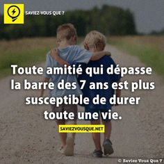 Any friendship that exceeds 7 years is extra more likely to final a lifetime Poetry Quotes, Words Quotes, Me Quotes, Sayings, Good To Know, Did You Know, Quote Citation, French Quotes, Psychology Facts