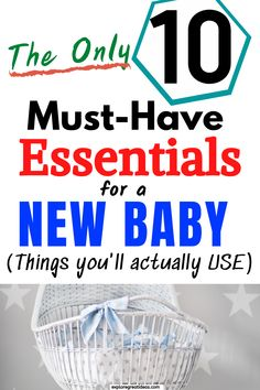 Money saving new mom tips for newborn baby stuff. baby essentials on a budget, new baby, newborn stuff, things baby needs, first baby, baby list, baby products, list for new baby, what moms need for baby, baby must haves, baby prepping checklist, baby items, baby necessities list, frugal new moms, baby supplies, baby on a budget #baby #essentials #checklist #newmom #babyregistry  #newborn #mom  #momadvice #babymusthaves #newbornessentials List For New Baby, Baby List, Baby Newborn, Baby Baby, Baby On A Budget, Money Saving Mom, Newborn Essentials, Baby Care Tips, Baby Necessities