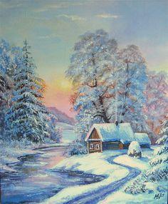 Original ACRYLIC PaintingCanvas on frameFREE by BeikmaneArtGallery