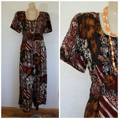 Vintage Jumpsuit / Hawaiian Jumpsuit / by WindingRoadVintage