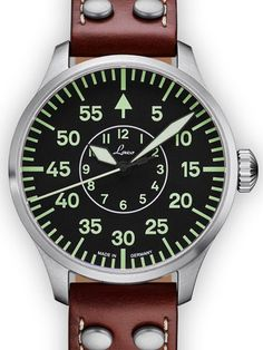 fb8443cacb56 Laco 42mm Aachen Type B Dial Automatic Pilot Watch